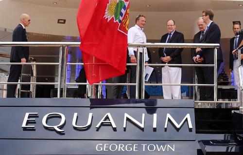 князь принц монако яхт клуб яхт шоу 2014