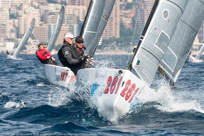 Парусные гонки Monaco Melges20 Winter Series