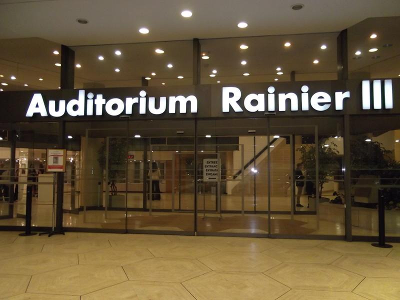 Форум Monaco Business в Auditorium Rainier