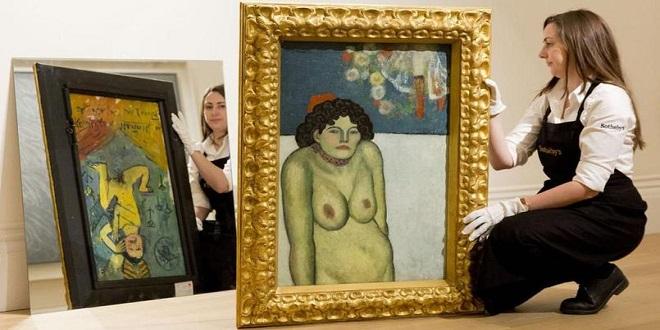 Картина Пабло Пикассо на аукционе