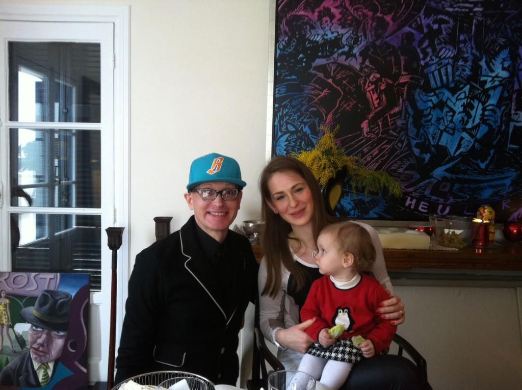 Дарья Усова с дочкой