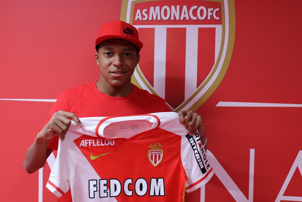 Новый игрок клуба Монако