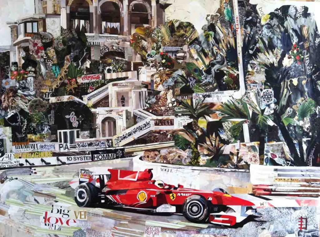 Formula1 - коллаж Дарьи Усовой