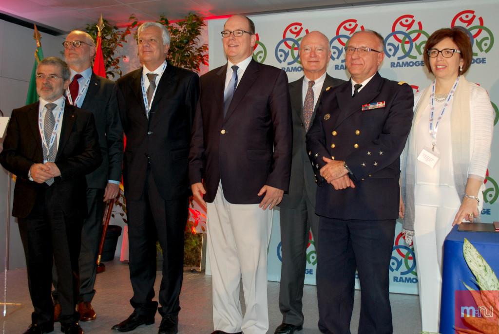 Участники конференции, посвященной 40-летию RAMOGE