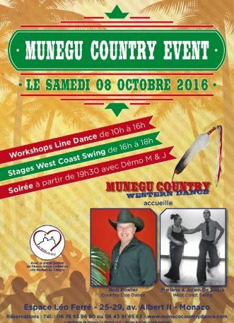 Танцевальный марафон Mùnegu Country Event